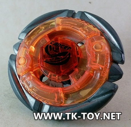 Takara TOMY Metal fight Beyblade BB100 Booster Flame Cancer D125RF