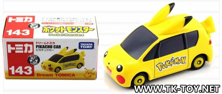 TAKARA TOMY PIKACHU CAR [Dream Tomica]