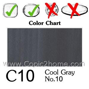 C10 - Cool Gray No.10