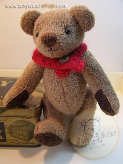 ตุ๊กตาหมีผ้าขนหนู -size 14 cm. - HERBIE