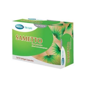 Saw Palmetto - SAMETTO แก้ปัญหาผมร่วง ลดอาการต่อมลูกหมากโต [MEGA We Care]