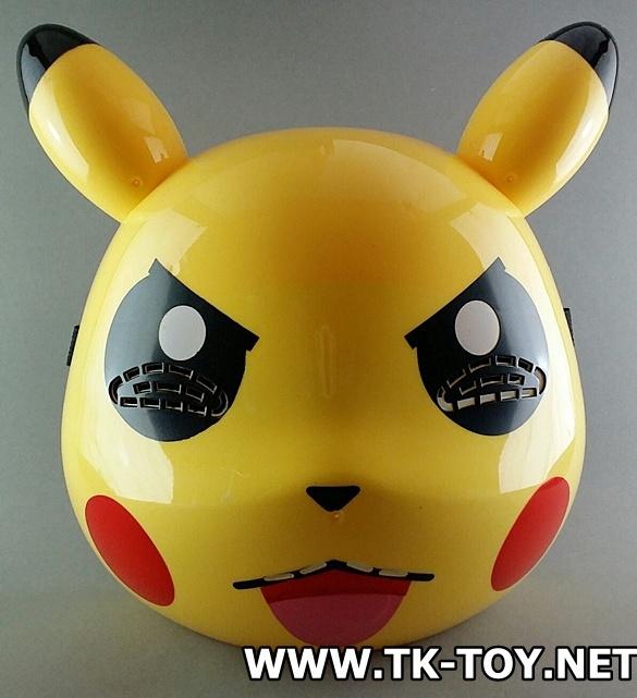 หน้ากาก ปิกัจจู (มีไฟที่หู) PM-02