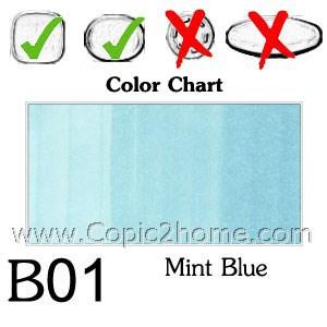 B01 - Mint Blue