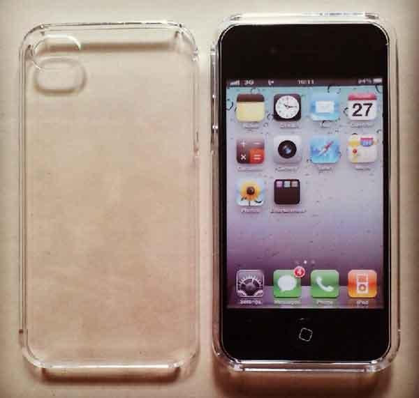 Case iphone4/4s ประกบ หน้า-หลัง ลายใส
