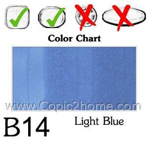 B14 - Light Blue