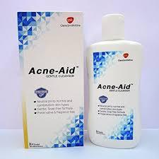 สตีเฟล เเอคเน่-เอด acne aid สบู่เหลวล้างหน้า สูตรอ่อนโยน สำหรับผิวบอบบางและผิวที่เป็นสิวง่าย 100มล. (Stiefel Acne-Aid Gentle Cleanser 100ml) acneaid