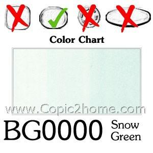 BG0000 - Snow Green