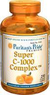 Puritan's Pride - Super Vitamin C 1000 mg 250 Tablets