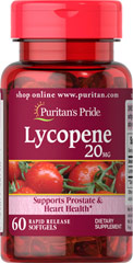 Puritan's Pride - Lycopene 20 mg 60 Softgels