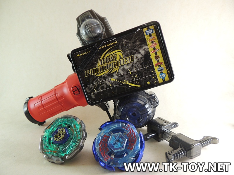 TAKARA TOMY Galaxy Pegasus W105R2F VS BEYBLADE Ray Unicorno D125CS GRIP GR SHOOTER (แถมฟรี Beyblade Rock Zurafa R145WB Giraffe)