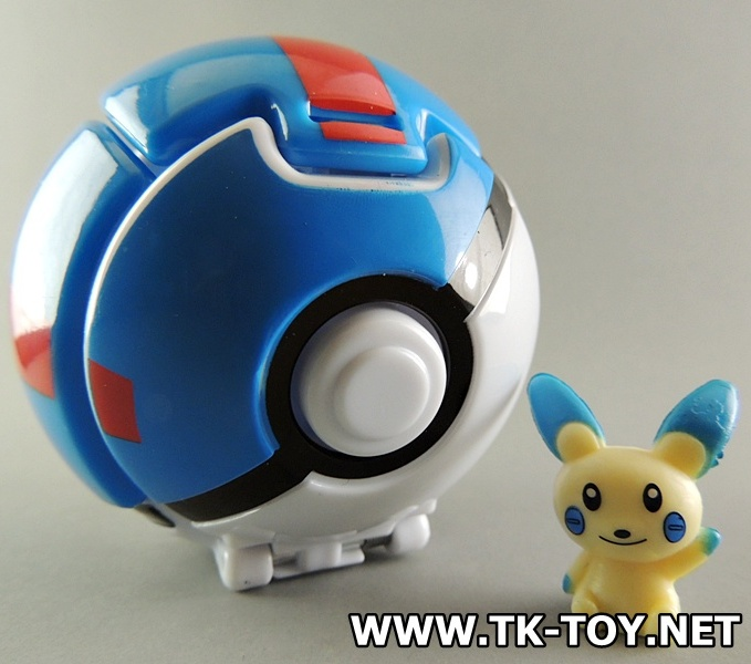 Pokemon Throw 'n' Pop Pokeball Set Great ball