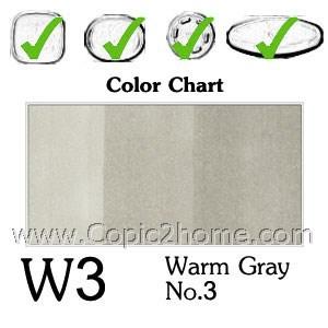 W3 - Warm Gray No.3