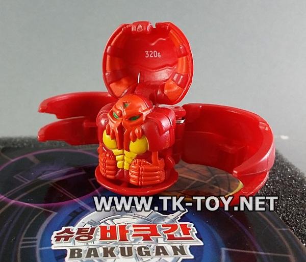 [บาคุกัน] Bakugan Reaper 320g Red Pyrus
