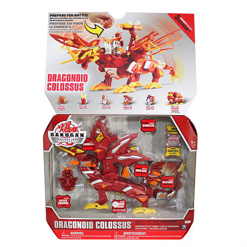 Bakugan Dragonoid Colossus [บาคุกันรวมร่าง กล่องใหญ่] SEGATOY