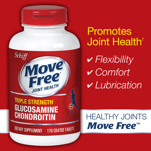 Schiff - Triple Strength Glucosamine Chondroitin 170 Coated Tablets