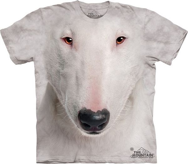 Big Face Bull Terrier Dog T-Shirts