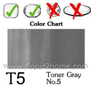 T5 - Toner Gray No.5