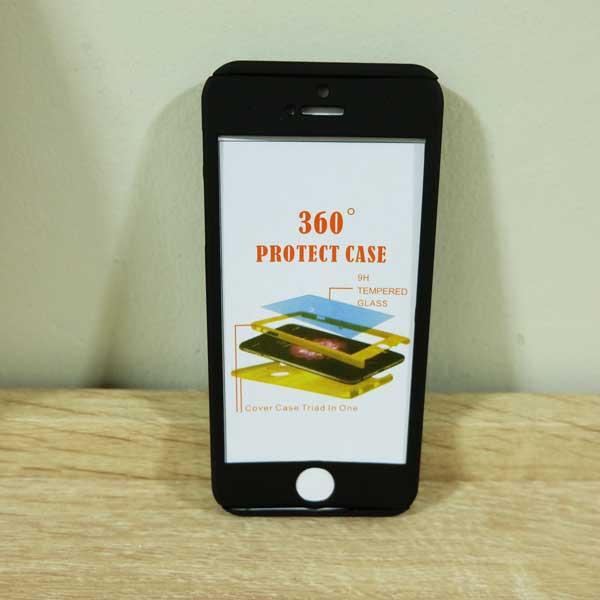เคสไอโฟน 5/5S/SE ประกบ สีดำ