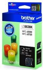 BROTHER INK CARTRIDGE LC-663BK สีดำ