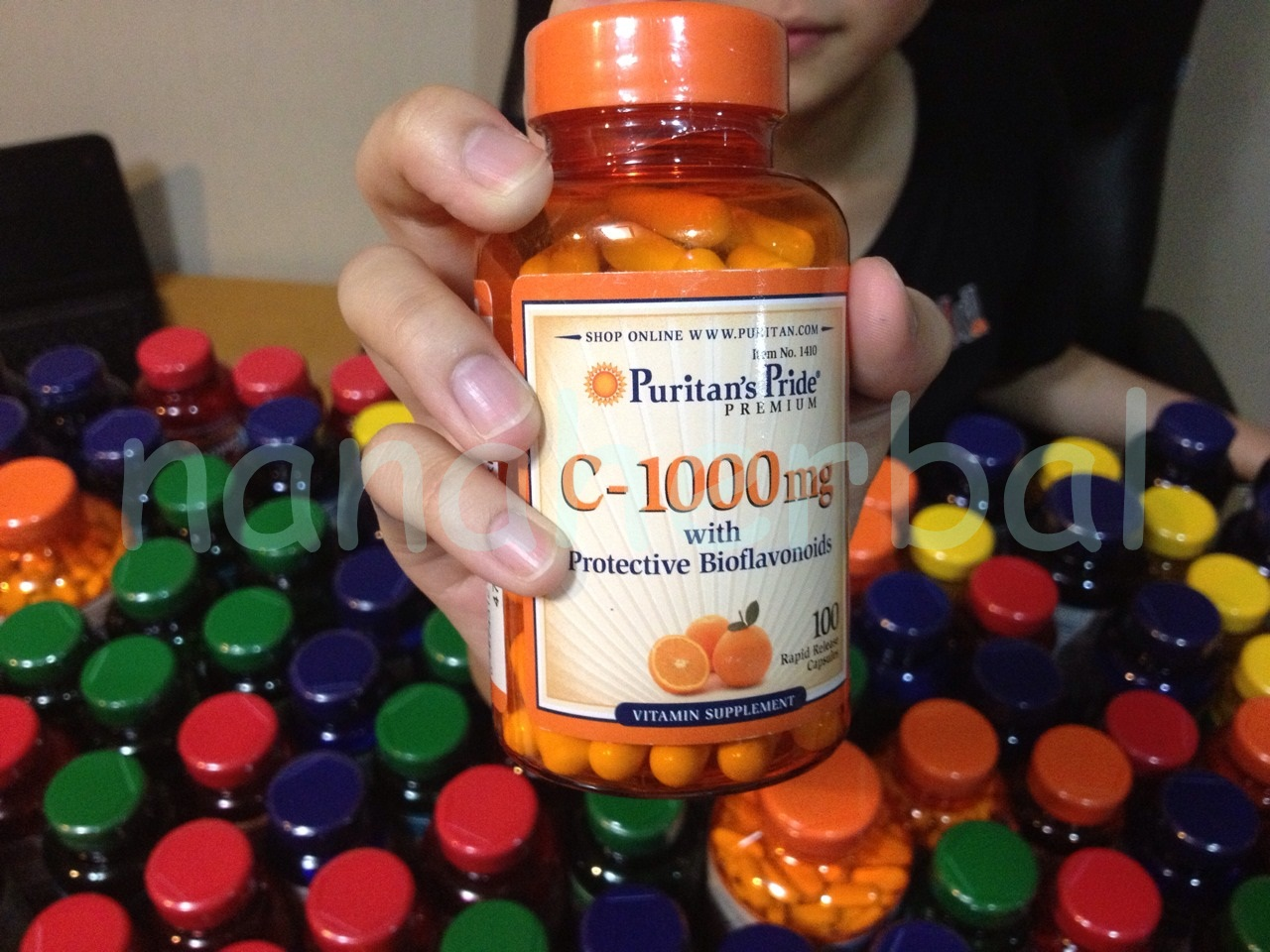 c-1000 mg with protective bioflavonoids 100 rapid release capsules