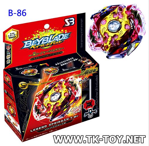 เบย์เบลดภาคใหม่ Beyblade Burst B86 Starter Legend Spriggan 7 Mr