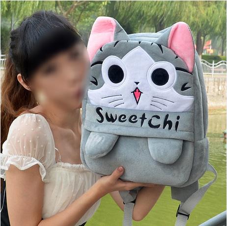 กระเป๋าเป้ผ้า (เด็กโต)
