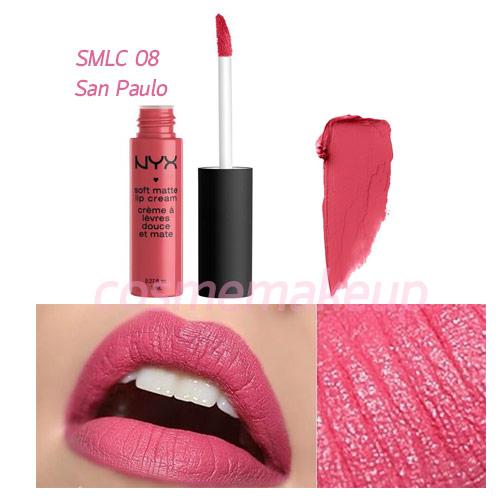NYX SOFT MATTE LIP CREAM #SMLC08 San Paulo