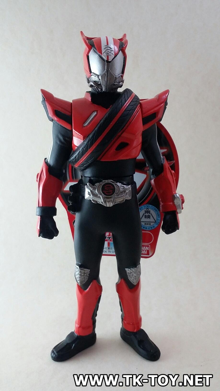 Kamen Rider Drive Rider Hero Series 01 Kamen Rider Drive Type Speed (ซอฟไวนิล)