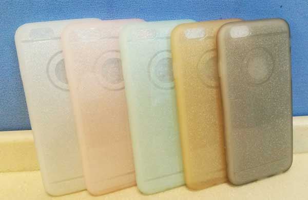 เคสไอโฟนยางฟรุ้งฟริ้ง ไอโฟน 4/4S