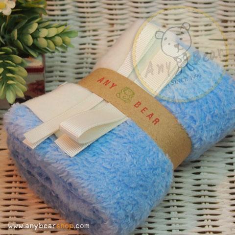 เซตผ้าขนนิ่ม (นำเข้าจากจีน) - สีฟ้า