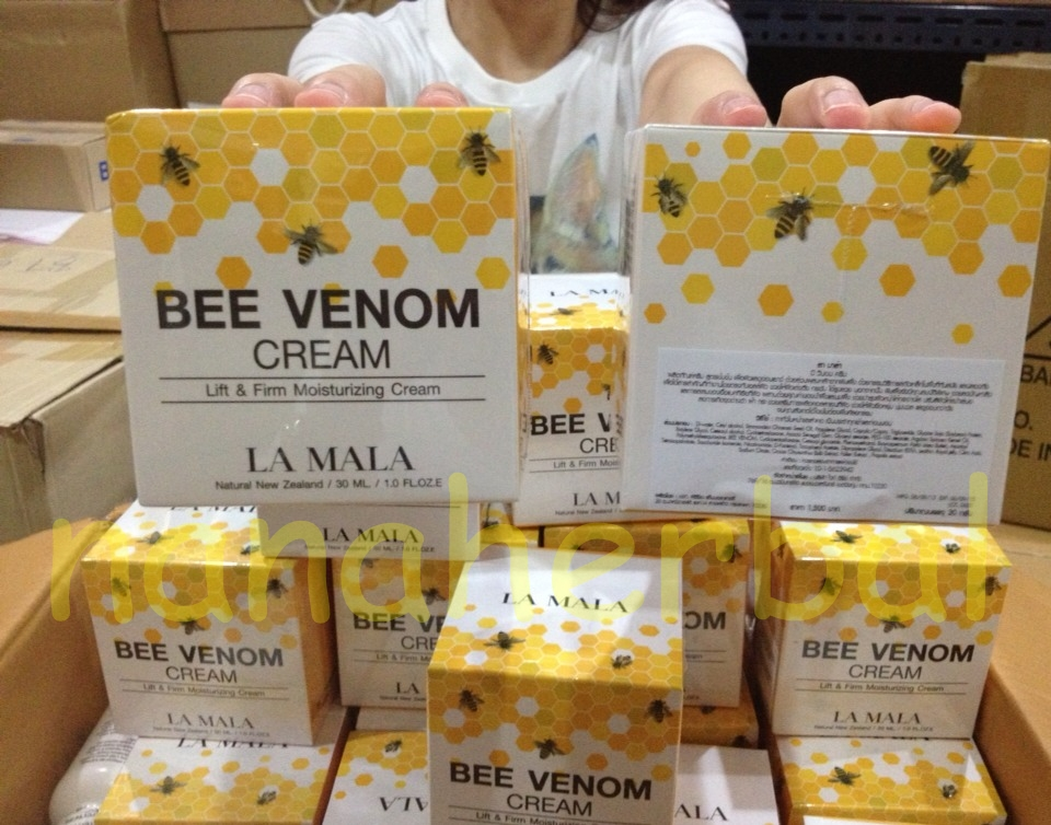la mala bee venom ครีมพิษผึ้ง