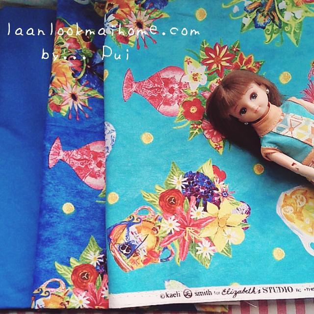 ผ้าคอตตอนสั่งจากอเมริกา 2 ชิ้นขนาด 22.5 x 27.5cm +ผ้าพื้นในไทย 1โทนสี ขนาด25x27.5 cm สั่งหลายจำนวนผ้าต่อกันค่ะไม่ตัดแยก