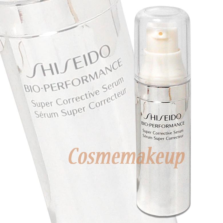 Shiseido Bio-Performance Super Corrective Serum 9 ml. เซรั่มแนวทางใหม่ในการฟื้นบำรุงผิวล่าสุดที่ครบครันในสูตรเดียว