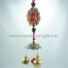 โมบายเหรียญจีน 3 ระฆังทอง