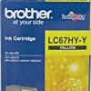 BROTHER INK CARTRIDGE LC-67HYY สีเหลือง