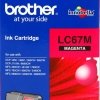 BROTHER INK CARTRIDGE LC-67M สีแดง