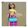 LMMiniB9-8 : กระเป๋าสะพายลิกกะ/เจนนี่/บลายธ์/บาร์บี้ และ body ใกล้เคียง (ผ้าญี่ปุ่น)