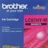 BROTHER INK CARTRIDGE LC-67HYM สีแดง