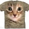 เสื้อยืด3Dสุดแนว(KITTEN FACE T-SHIRT)