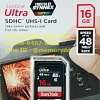 SD Sandisk Ultra 16GB 48MB/s (320X)(SDSDUNB_016G_GN3IN)