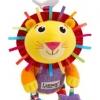 Lamaze Logan the Lion Play and Grow ตุ๊กตาผ้าผิวสัมผัสแตกต่าง เขย่ามีเสียงกระพรวน บีบมีเสียงปิ๊ป ๆ เด็ก ๆ ชอบมากค่ะ