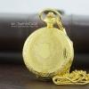 นาฬิกาสีทองพรีเมียม ลายคลาสสิคยุโรประบบถ่านควอทซ์ (พร้อมส่ง)