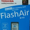 Toshiba Flash Air 16GB SD Wireless W-03