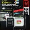 Sandisk MicroSD Extreme 32GB 100MB/s ประกันศูนย์ Lifetime