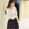 เสื้อน่ารักสไตล์เกาหลี สีขาว