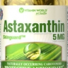 Vitamin World - Astaxanthin 5 mg 60 Softgels