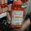 c 1000 mg with protective bioflavonoids and wild rose hips 100 coated caplets
