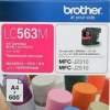 BROTHER INK CARTRIDGE LC-563M สีแดง