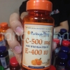vitamin C 500 mg with Wild Rose Hips & E 400 IU 50 rapid release softgels