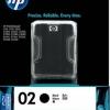 HP INK 02 BLACK สีดำ